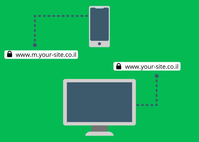 כתובת URL לנייד
